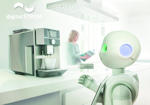 Robots and bots becoming smart helpers in the home –digitalSTROM platform heralding the start of the new smart home era by digitalSTROM AG